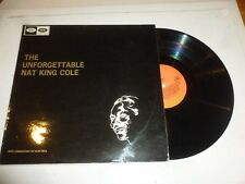 NAT KING COLE - The Unforgettable Nat King Cole - 1970s UK stereo Vinyl LP