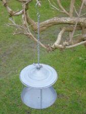 mangeoire en fer forgé a suspendre ,décoration ou utile oiseaux ,