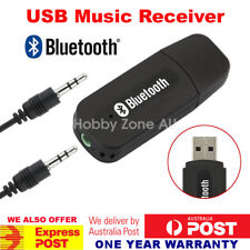 USB Bluetooth Audio Receiver Adaptor Wireless Music 3.5mm AUX Dongle A2DP In Car