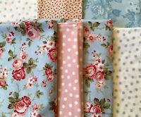 "South Seas Imports ""Hannah Bella"" quilting fabric Robyn Pandolph 13.5 yds Blue"