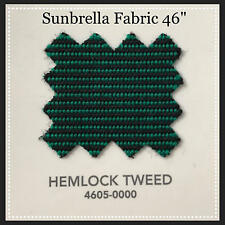 "Sunbrella Fabric 46"" Wide Hemlock Tweed #4605 2 Yards"