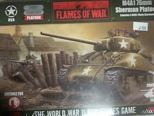 Flames of War US M4A1 76mm Sherman Platoon