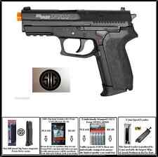 Sig Sauer SP2022 CO2 Airsoft Hand Pistol Gun with Tactical Rail 4 added xtras