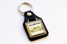 Austin 1100 1300 ADO16 Keyring - Leatherette Retro Classic Car Auto Keytag