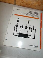 Motorola 68P81074E75-D System Manager Operating Manual *FREE SHIPPING*