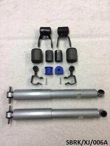 Rear Suspension KIT & Shock Absorbers for Jeep Cherokee XJ 1984-2001 SBRK/XJ/006