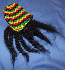 Pet Dog Cat Rasta Reggea Costume Hat Dreadlocks Wig small