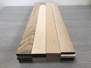 Oak,ash,maple,st.beech timber offcuts 5 Length Of Each@ 48x10x500mm long