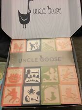 Uncle Goose Nursery Rhyme Blocks - Made in USA Non-toxic Ink