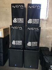 dB Technologies Arena 12 Passive Lautspecher (1 Paar = 2 Stück)incl. Schutzhülle