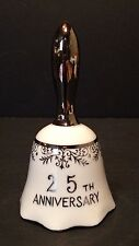 Silver 25th Anniversary Bell