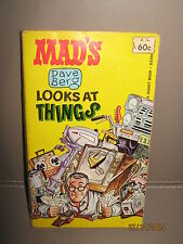 Mad magazine paper back book Dave berg looks at things 1967 V/G 1st issue rare
