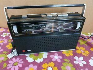 Ultra Vintage Transistor Radio.1970s.Working. MW LW SW VHF FM Working mains/Batt