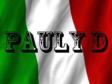 DJ PAULY D #6 JERSEY SHORE REFRIGERATOR LOCKER GLOSSY FLAG MAGNET GAG GIFT