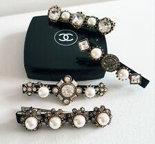 Pearl Jewel Crystal Embellished Hair Clips Slides Barettes Other Bloggers...
