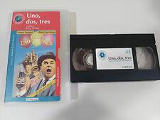 UNO DOS TRES VHS TAPE CINTA COLECCIONISTA BILLY WILDER JAMES CAGNEY BUCHHOLZ