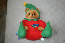 Hallmark Santa's Workshop Elf #25 Teddy Bear Stuffed Plush Animal Toy