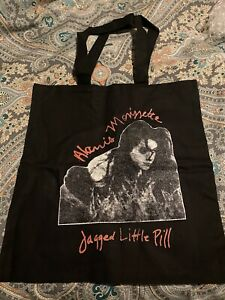 Alanis Morissette Jagged Little Pill Tote Bag W/ Buttons