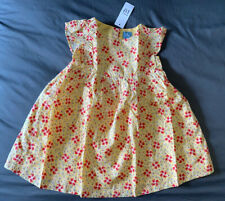 Toddler Girl 18-24 Month Baby Gap Yellow Floral Print Spring Dress & Bloomers
