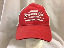 trucker hat baseball cap RIVERSIDE CLUB ON THE RIVER TX retro vintage cool nice