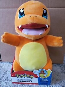 Pokemon Lights and Sounds Charmander Interactive Plush New in Package Box