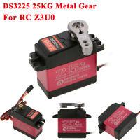 DS3225 25KG Metal Gear High Torque Waterproof Digital Servo for RC Z3U0 DC moto