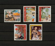 (YYAZ 743) Laos 1971 - 1972 MNH Art Indochina Airmail