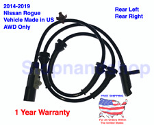 New ABS Wheel Speed Sensor for 2014-2019 Nissan Rogue AWD Rear Left / Right US