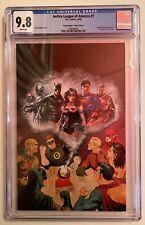 Justice League of America #1 Comic Box Virgin Variant Cover CGC 9.8 JLA POP 2 🔥