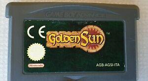 Golden Sun Nintendo Game Boy Advance/SP ITA
