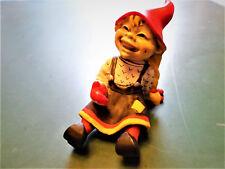 Trollfigur  Steingut aus Norwegen