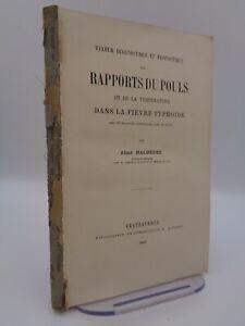 TYPHUS Aimé Malherbe : Valeur diagnostique et pronostique des rapports du pouls