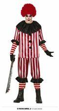 Adults Mens Devil Clown Adults Fancy Dress Costume