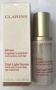 Clarins Vital Light Serum, Dark Spot Correcting  - 30ml - Boxed - Free Post