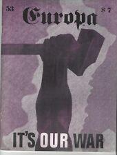 THE EUROPA MAGAIZNE #53 THE MAGNITOGORSK CAMPAIGN: EUROPA BATTLE SCENARIO 1997