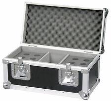 Flightcase mikrocase CAJA TRANSPORTE PARA 12 Micro Teléfono con compartimentos