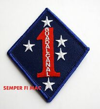 1st MARINE DIVISION MARDIV HAT PATCH US MARINES PIN UP MCB CAMP PENDLETON CA WOW
