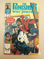 The Punisher War Journal Comic Book 14 Jan 1989 Guest Starring Spider Man