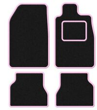 DODGE RAM 06 - in Velluto Nero / Rosa Trim CAR Mat Set