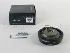 NRG Steering Wheel Quick Release Kit - Short / Thin Version - Black Carbon Fiber