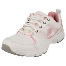 Baskets décontractées blancs Skechers pour fille de 2 à 16 ans