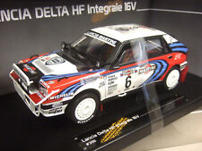 SUNSTAR 1/18 LANCIA DELTA HF INTEGRALE 16V #6 1ST WINNER KENYA SAFARI RALLY 1991