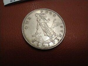 1903-S PHILIPPINE/USA PESO US SILVER DOLLAR SIZE COIN