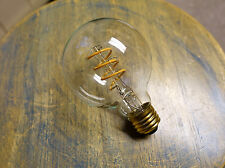 LED Edison Bulb G25, Curved Vintage Style Spiral Filament, 4watt (40w), Dimmable