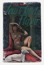 CURIOSA- SOUS LE FOUET DU PLAISIR - SADIE MARTIN - PIC - 1954