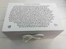 Personalised Mother Of The Bride Wedding Gift Trinket Box Present Keepsake
