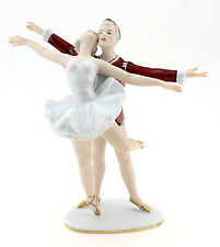 Vintage Wallendorf Ballet Dancers Figurine