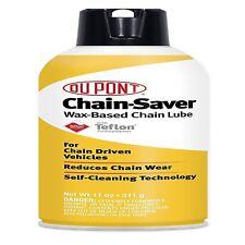DuPont Teflon Chain Saver Lubricant 11 oz. Motorcycle Dirt Bike ATV Oil Lube Wax