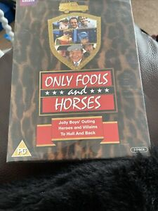 Only Fools And Horses Triple Boxset Dvd Brand New & Factory Sealed Freepost