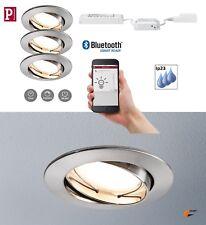 Paulmann Smarthome EBL Goal Coin 3x5,2W Eisen Bluetooth Dimmbar mit App oder FB